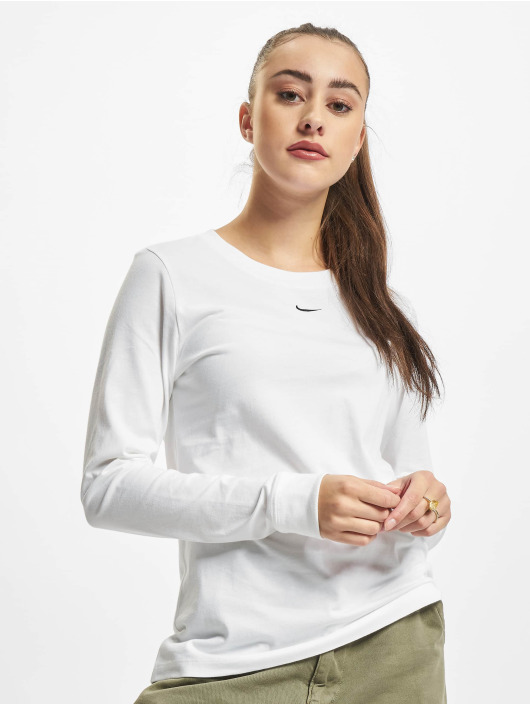 Nike Tričká dlhý rukáv NSW LBR biela