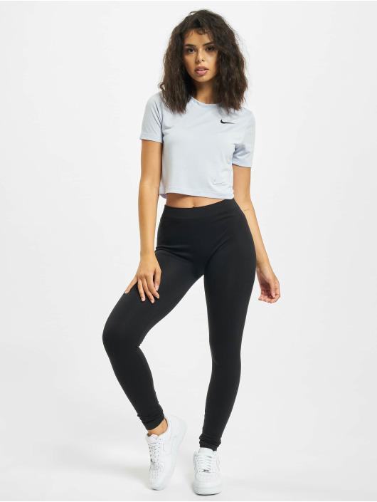 Nike Tričká Slim Crop LBR fialová