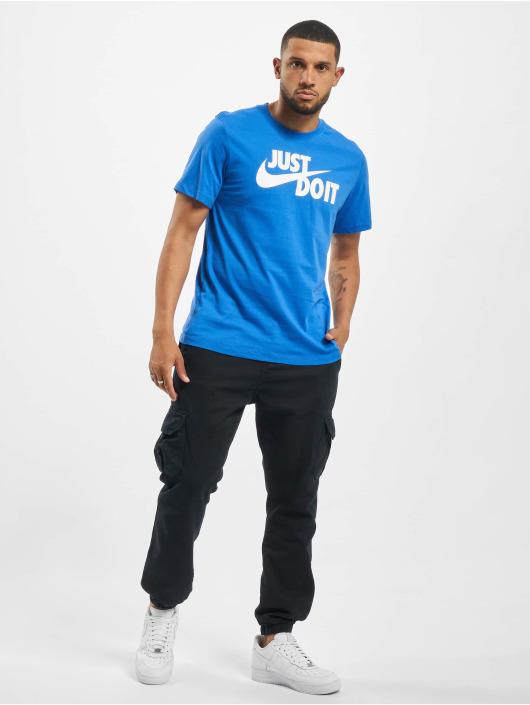 Nike Tričká Just Do It Swoosh modrá