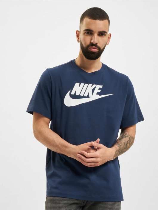 Nike Tričká Icon Futura modrá