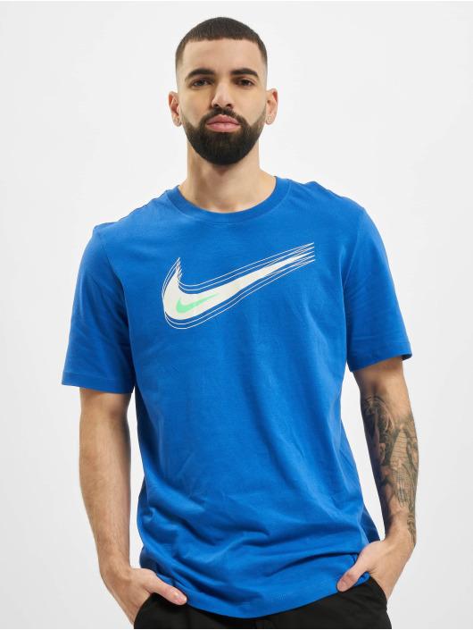 Nike Tričká M Nsw Swoosh 12 Month modrá