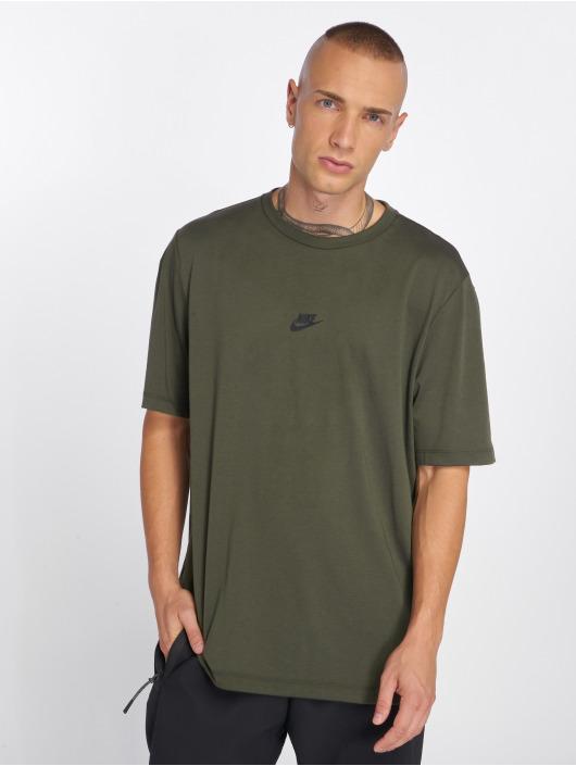 Nike Tričká Sportswear Tech Pack olivová