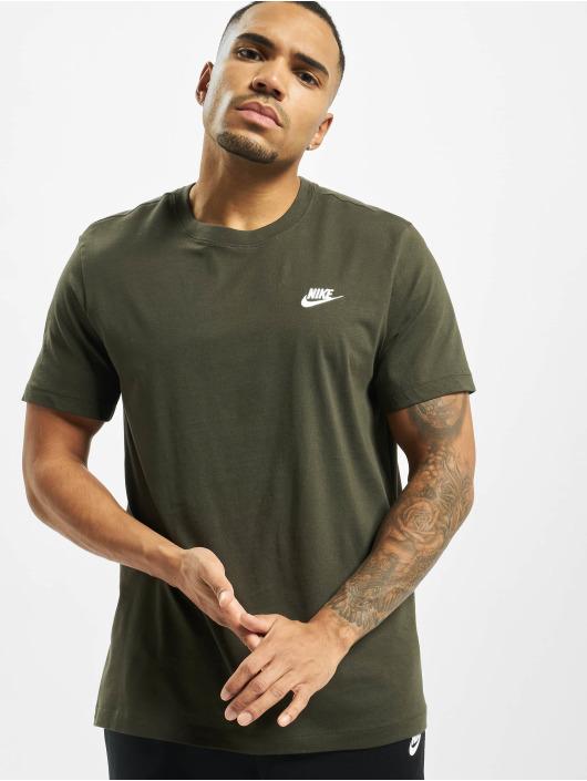 Nike Tričká Club olivová