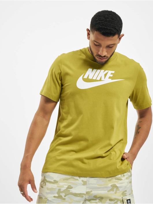 Nike Tričká Icon Futura olivová