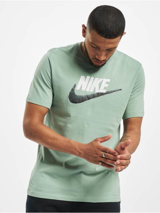 Nike Tričká Brand Mark zelená