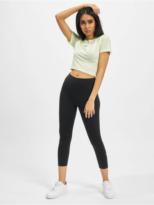 Nike Tričká Slim zelená
