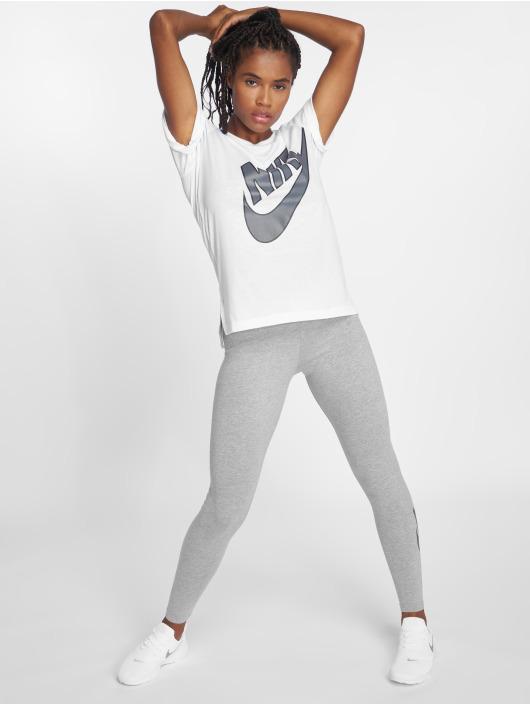 Nike Trika NSW Top SS Prep Futura bílý