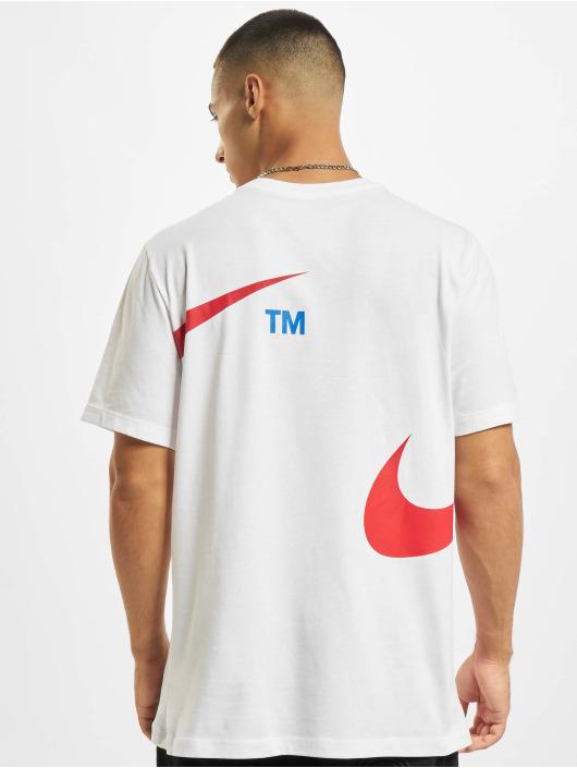 Nike Trika Swoosh bílý