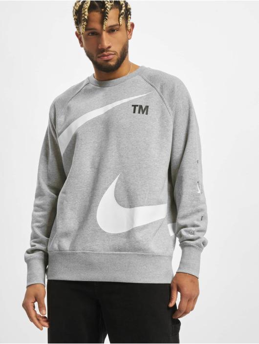Nike Tröja Swoosh Sbb Crew grå