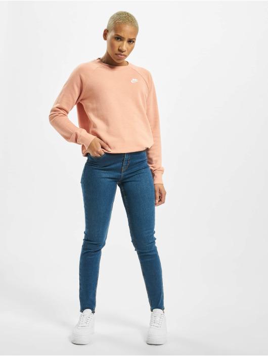 Nike Tröja Essential Crew Fleece rosa