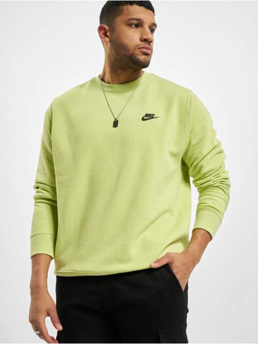Nike trui Nsw Sb Crew Revival geel