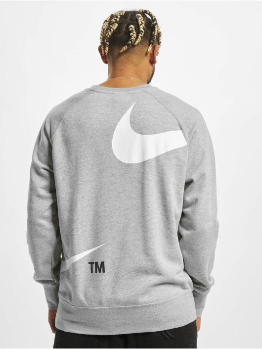Nike trui Swoosh Sbb Crew grijs