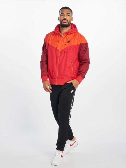 Nike Übergangsjacke M Nsw He Wr Jkt Hd rot