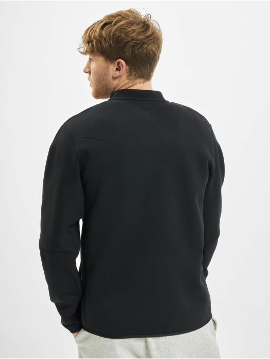 Nike Übergangsjacke M Nsw Tch Flc Bombr schwarz
