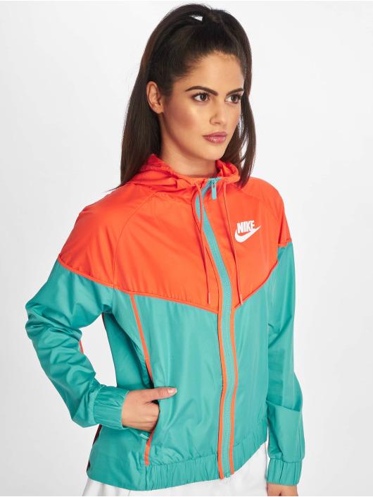 Nike Übergangsjacke Windrunner türkis