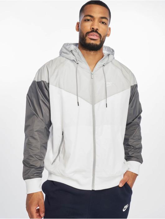Nike Sportswear HE WR Jacket WhiteWolf GreyDark GreyWhite