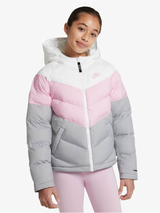 Nike Vattert jakker Synthetic Fill hvit