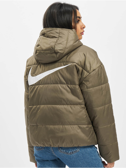 Nike Vattert jakker Classic oliven