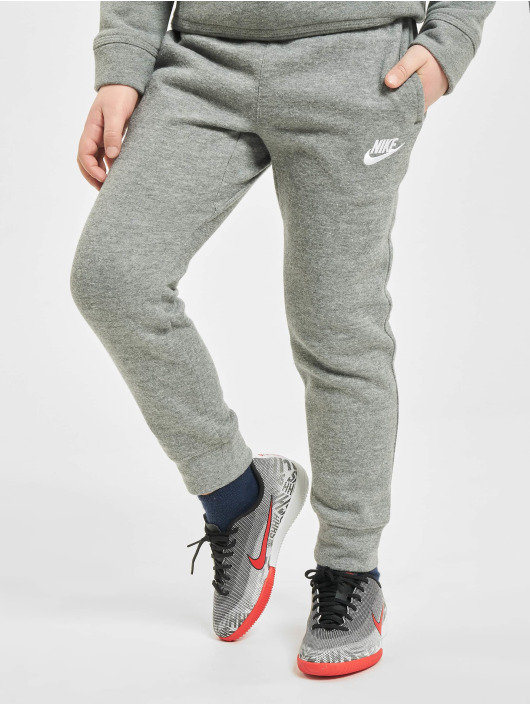 Nike Verryttelyhousut Club Fleece Rib Cuff harmaa