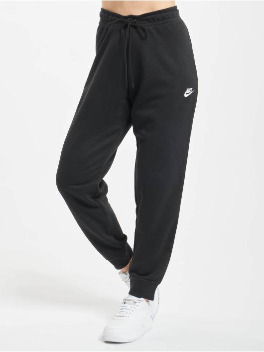 Nike Verryttelyhousut Essential Tight Fleece musta