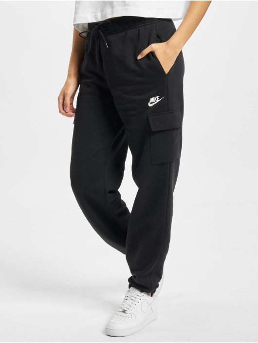 Nike Verryttelyhousut Essntl Flc Cargo musta