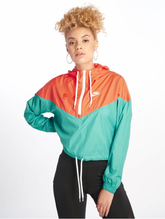 Nike Veste mi-saison légère Windbreaker turquoise