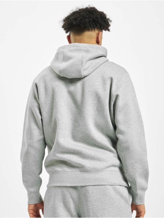 Nike Vetoketjuhupparit Club Hoodie Full harmaa