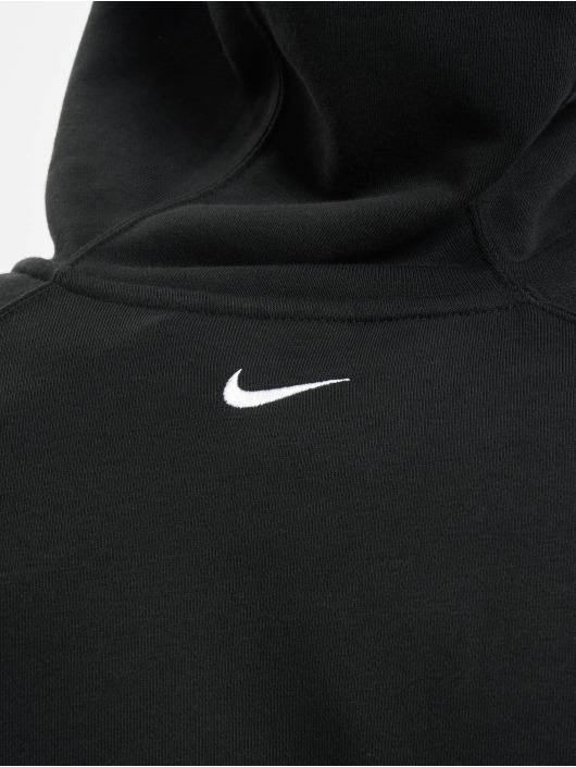 Nike Vetoketjuhupparit Sportswear Swoosh musta
