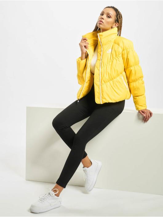 Nike Vinterjakke Down Fill gul
