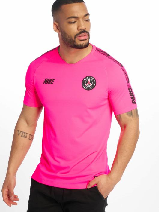 Nike Voetbal tricots Breathe Paris Saint-Germain Squad pink