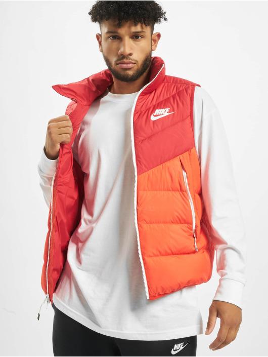 Nike Weste Down Fill Windrunner rot