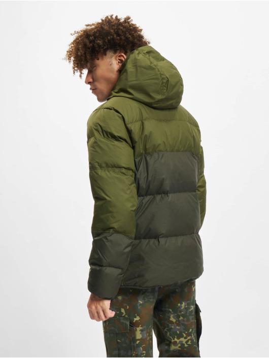 Nike winterjas NSW SF Windrunner Hooded groen
