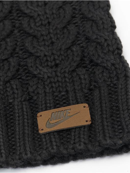 Nike Wintermütze Knit Pom schwarz