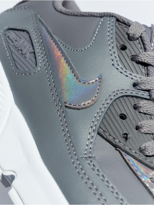 Nike Zapatillas de deporte Air Max 90 Leather (GS) gris