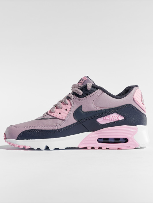 Nike Zapatillas de deporte Air Max 90 Leather (GS) rosa