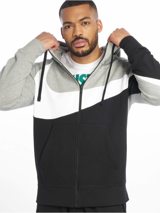 Nike Zip Hoodie HBR FZ FT šedá