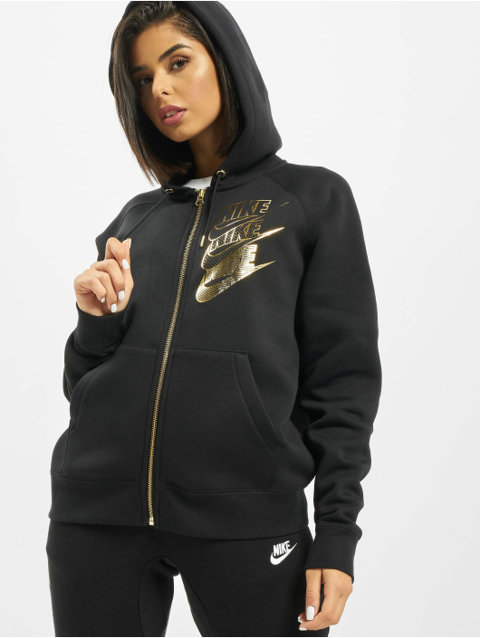 Nike Zip Hoodie Full Zip BB Shine black