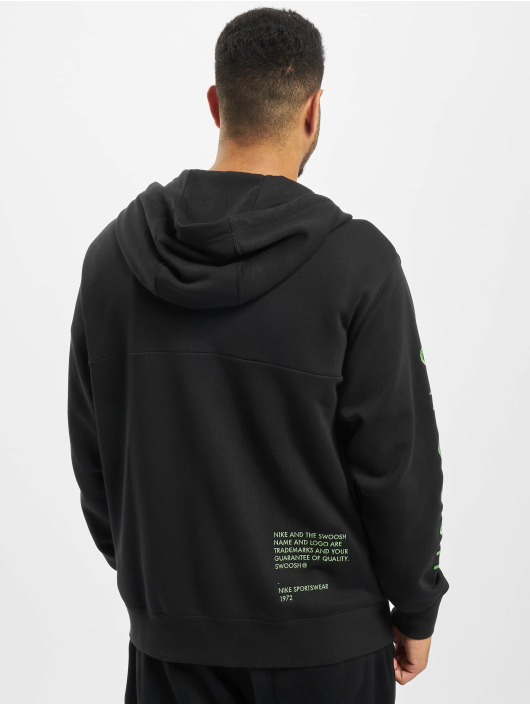 Nike Zip Hoodie Swoosh black