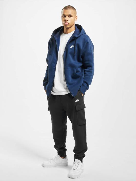 Nike Zip Hoodie Club blue