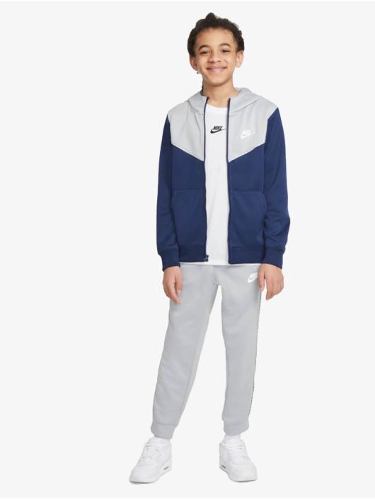 Nike Zip Hoodie Repeat blue