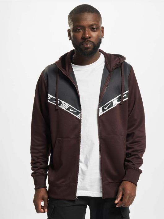 Nike Zip Hoodie Repeat PK brown