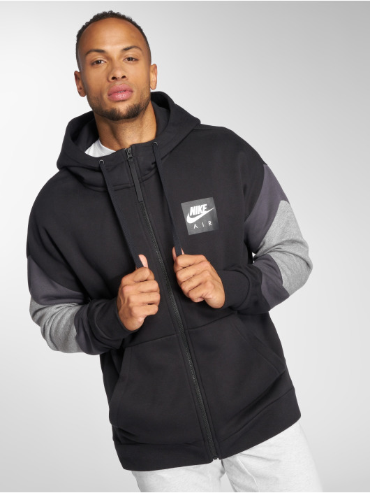 Nike Zip Hoodie Air Transition czarny