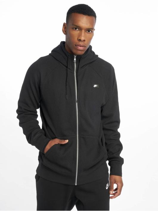 Nike Zip Hoodie Me Hoodie FZ Waffle czarny