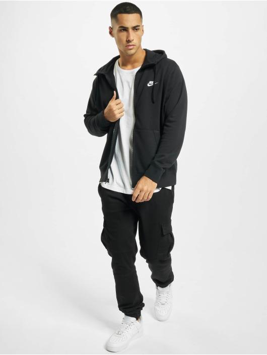 Nike Zip Hoodie Club Full Zip FT czarny