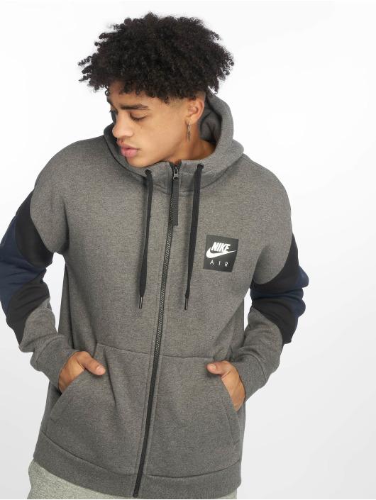 the best attitude 2a3e5 97099 ... Nike Zip Hoodie Air Transition grau ...