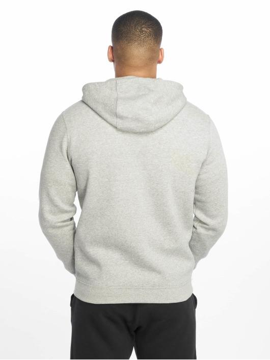 Nike Zip Hoodie JDI FZ Fleece grau