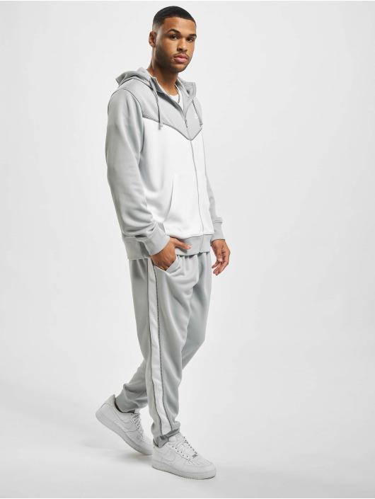 Nike Zip Hoodie M Nsw Repeat Pk Fz grau