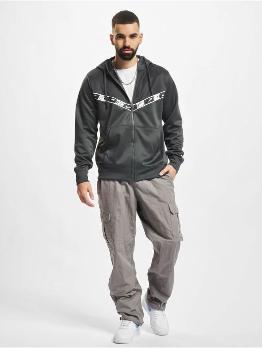 Nike Zip Hoodie Repeat PK grau
