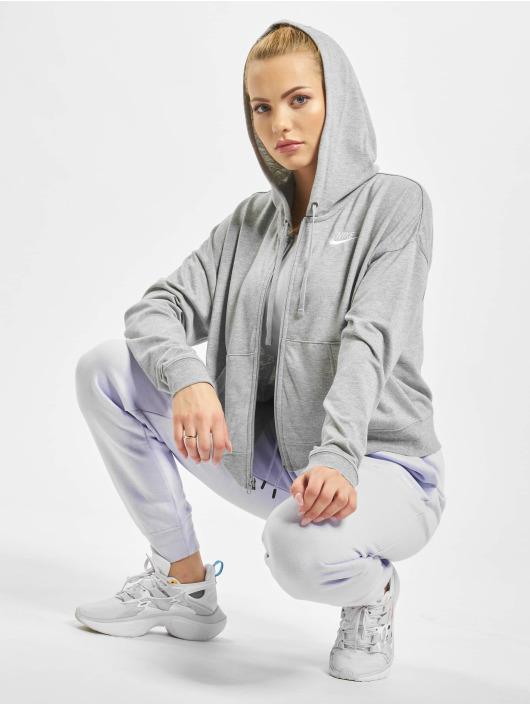 Nike Zip Hoodie FZ JRSY gray
