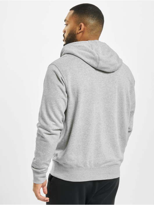 Nike Zip Hoodie Club Full Zip FT gray